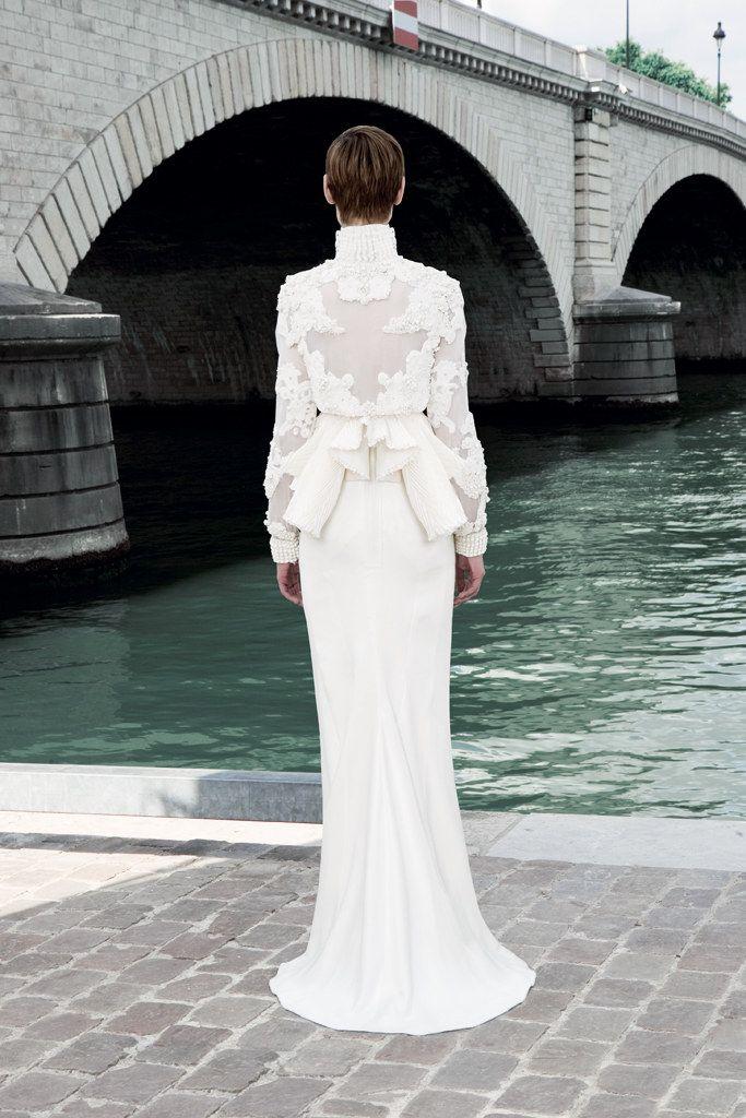 Givenchy Fall 2011 Couture Fashion Show - Saskia de Brauw (VIVA)