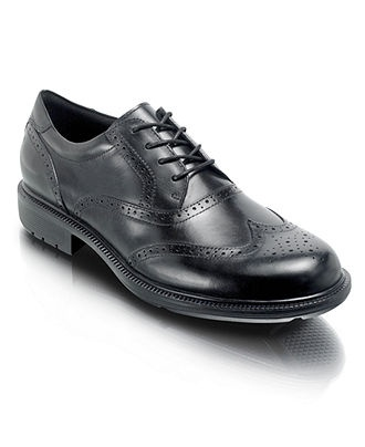 Rockport Shoes, Wooster Wingtip Oxfords - Mens Lace-Ups & Oxfords - Macy's