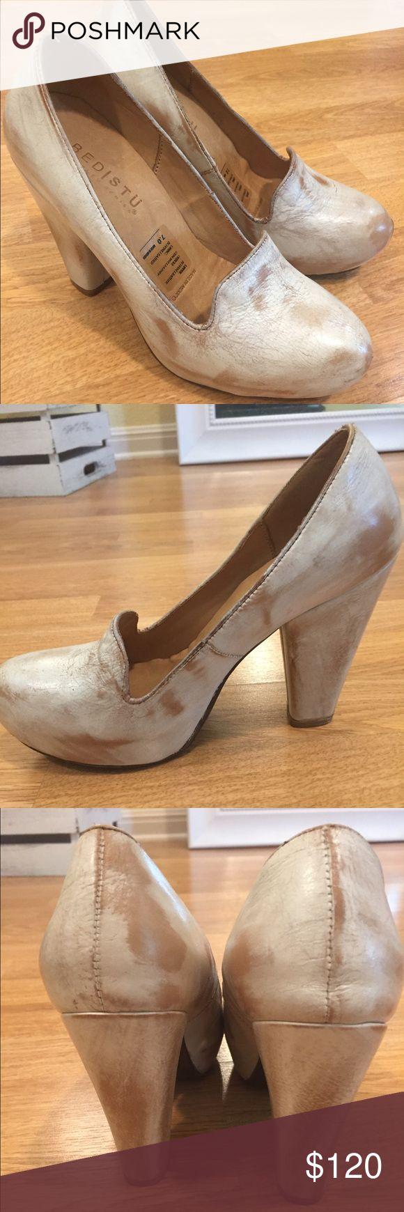 Bed Stu Molly pearl pumps. Beautiful pearl, vintage-looking pumps. Brand new, never worn. Bed Stu Shoes Heels
