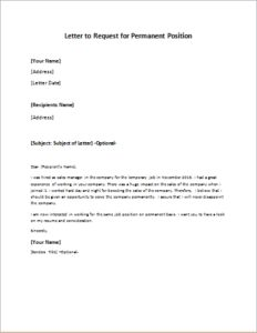 Letter to request for permanent position download at http letter to request for permanent position download at httpwriteletter2letter to request for permanent position letters pinterest temporary spiritdancerdesigns Gallery