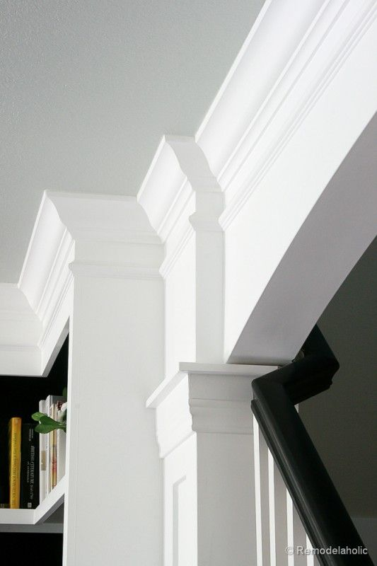 17 images about columns and trim work on pinterest for Crown columns