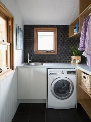 Luke and Cody's laundry now. Picture: Supplied