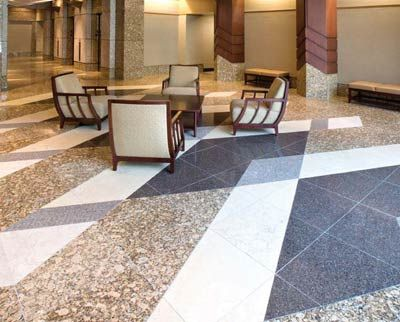 Professional stone floor polishing in Bromley