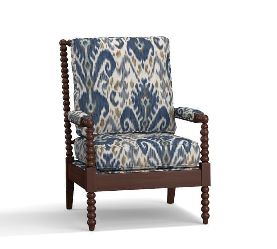 Loralie Upholstered Spindle Armchair Antique Dining