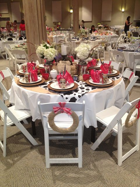 Women's events table themes for teas or other ministry events.  Calico and Cupcakes: A Terrific Tea: Thematic Party and Table Ideas