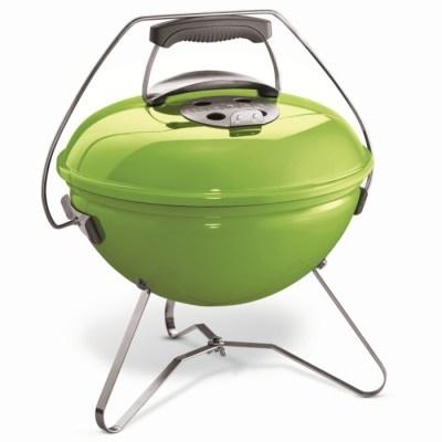 Weber Smokey Joe Premium Portable Charcoal BBQ Spring Green