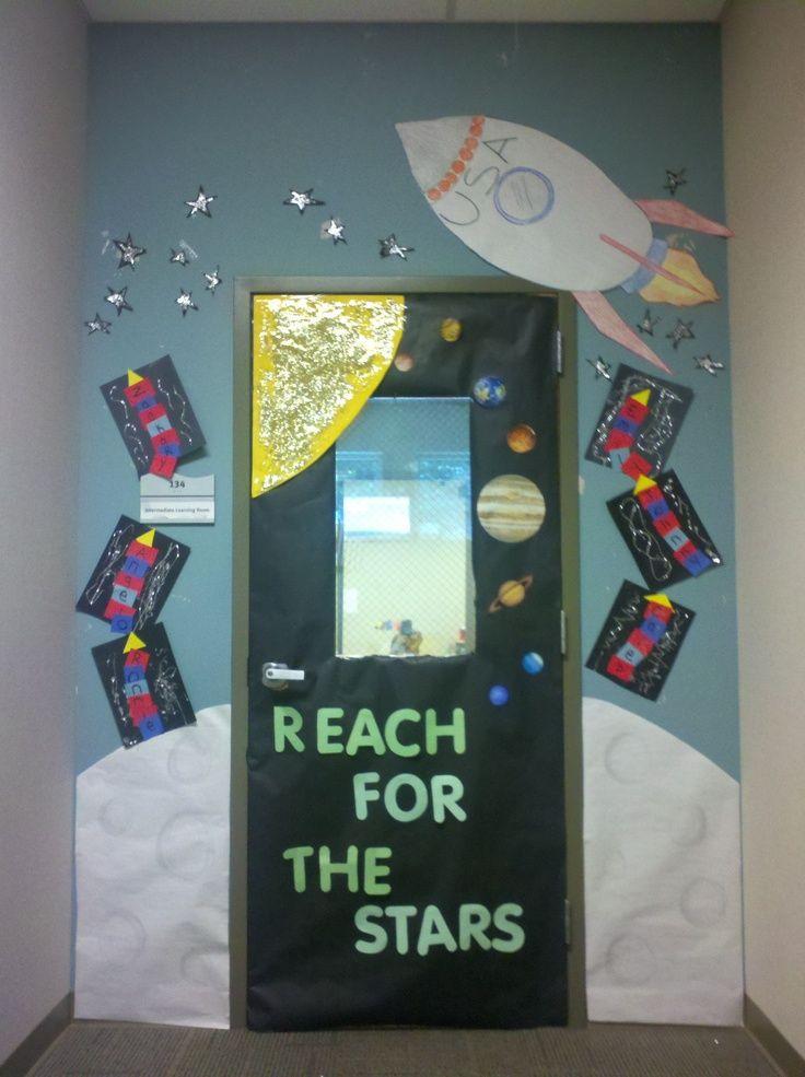 Classroom Decor Stars ~ Space classroom decorations