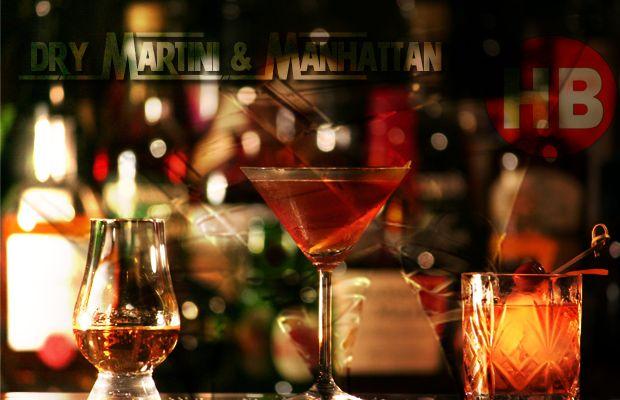 Dry Martini & Manhattan - Κλασικά κοκτέιλ εναρμονισμένα στις σύγχρονες τάσεις