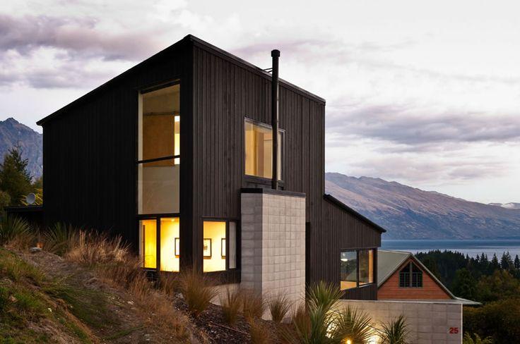 Dublin Street House in New Zealand