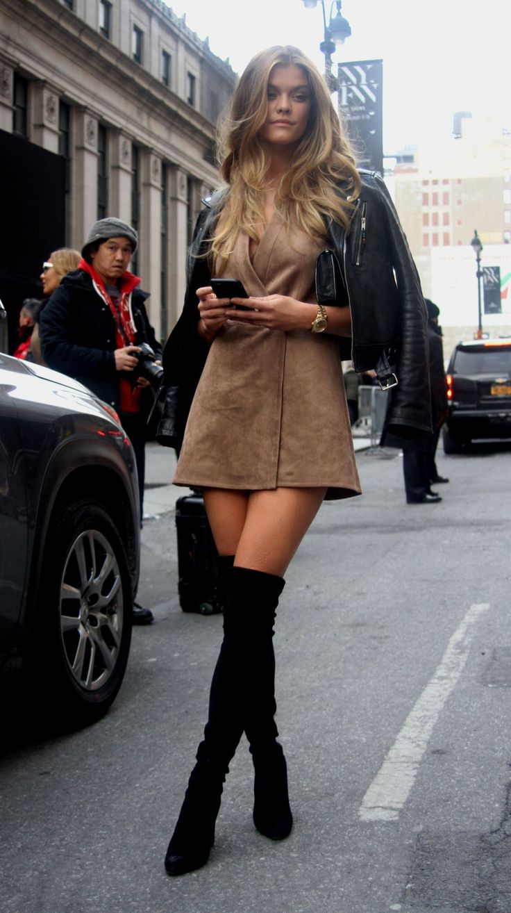 Nina Agdal out and about in New York