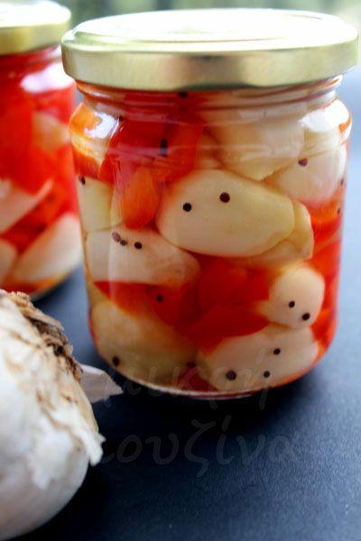 μικρή κουζίνα: Σκόρδο τουρσί