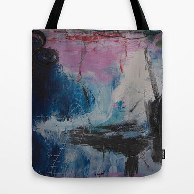 colors of the week - tuesday Tote Bag by Helle Pollas - $22.00