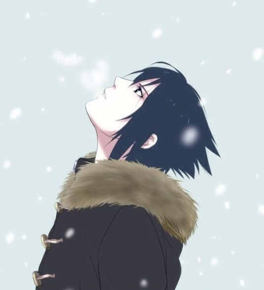 Sasuke Uchiha, when I started watching Naruto ( I don't watch it anymore because it's not on) but when I did I fell in love with him.