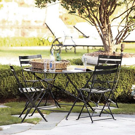 19 Best Images About Outdoor Wrought Iron Table Chairs On Pinterest Outdoor
