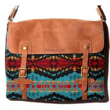 Beautiful Pendelton messenger bag.