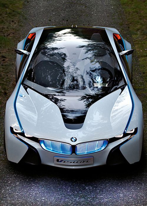5 of the World's Most Advanced Tech Cars. Find out why the BMW i8 is light years ahead of its competition. #spon #futurecars
