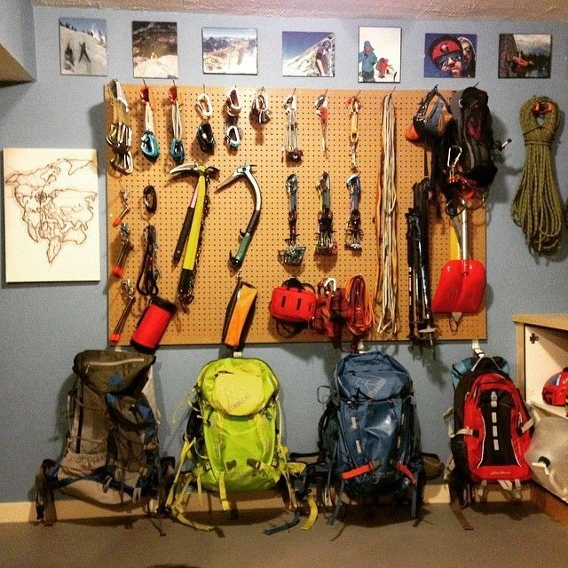 Awesome 64 Best Gear Closet Ideas Images On Pinterest | Camping Gear, Garage  Storage And Outdoor Gear