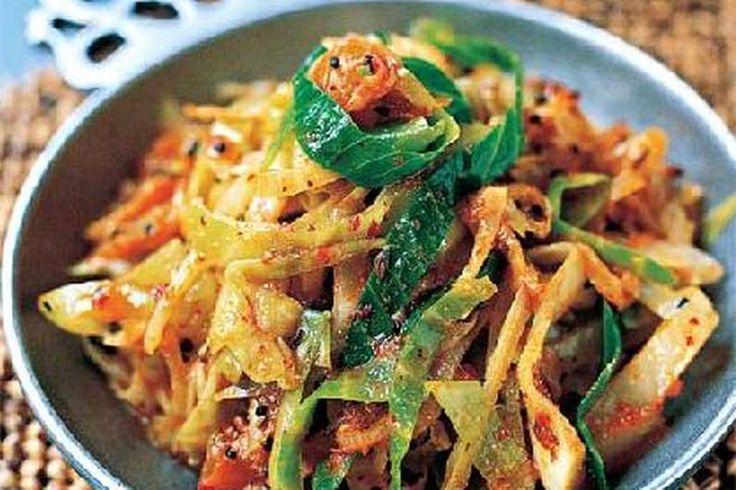 Das Rezept für Pikanter Kohl mit Ingwer mit allen nötigen Zutaten und der einfachsten Zubereitung - gesund kochen mit FIT FOR FUN