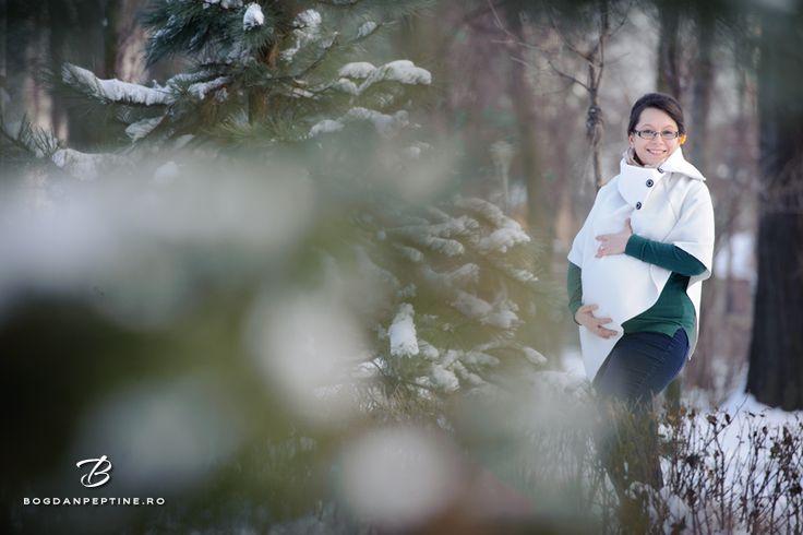 Sedinta foto de gravida iarna - Irina si Andrei | Fotograf de nunta