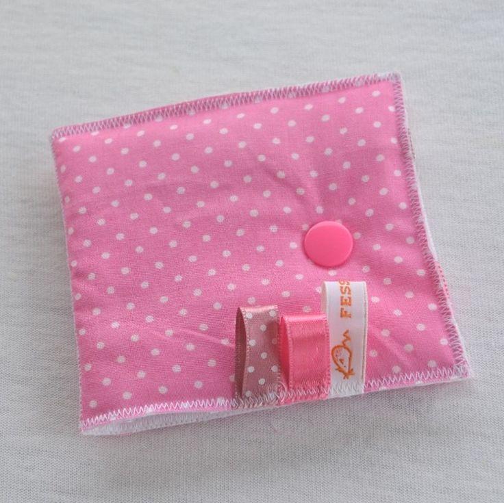 Pochette range-barrette rose ultra pratique : Accessoires coiffure par fesse-de-rat