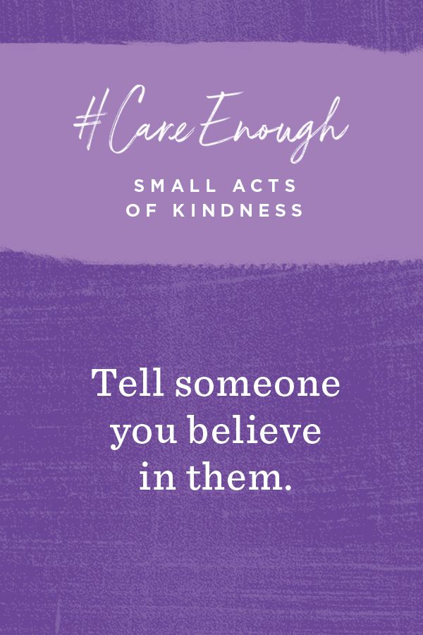 From the biggest acts to the smallest, they all make a difference. Be sure to follow Hallmark for more small acts of kindness that you can perform in your community to make a big impact. #CareEnough