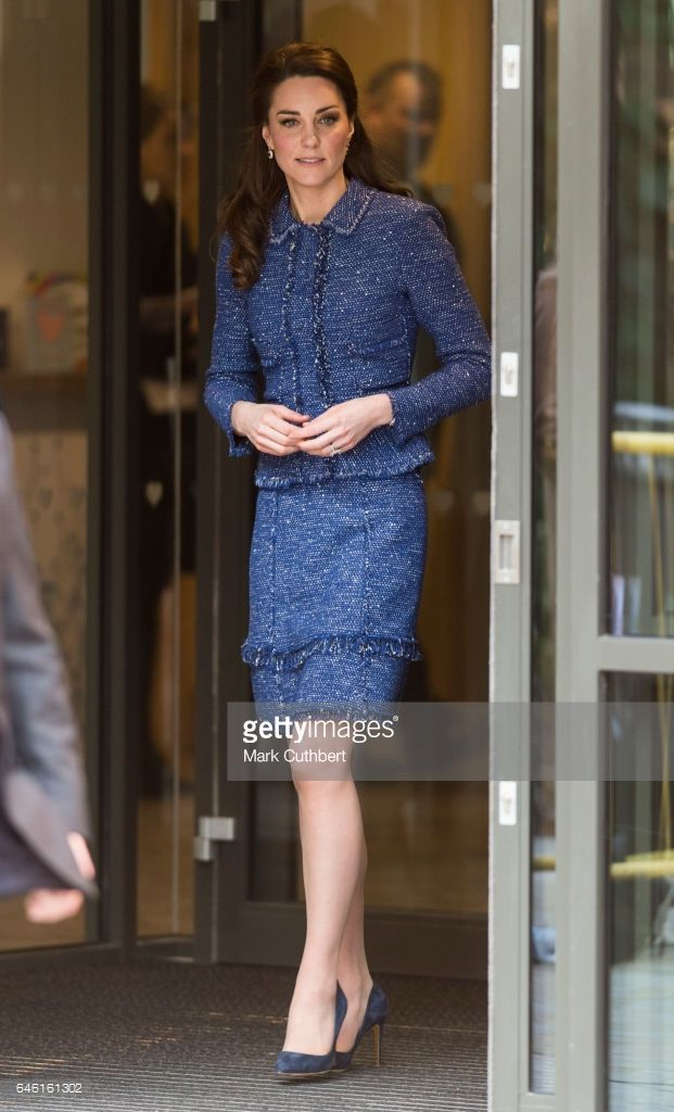 Catherine, Duchess of Cambridge during a visit to open Ronald McDonald House Evelina London on February 28, 2017 in London, England.