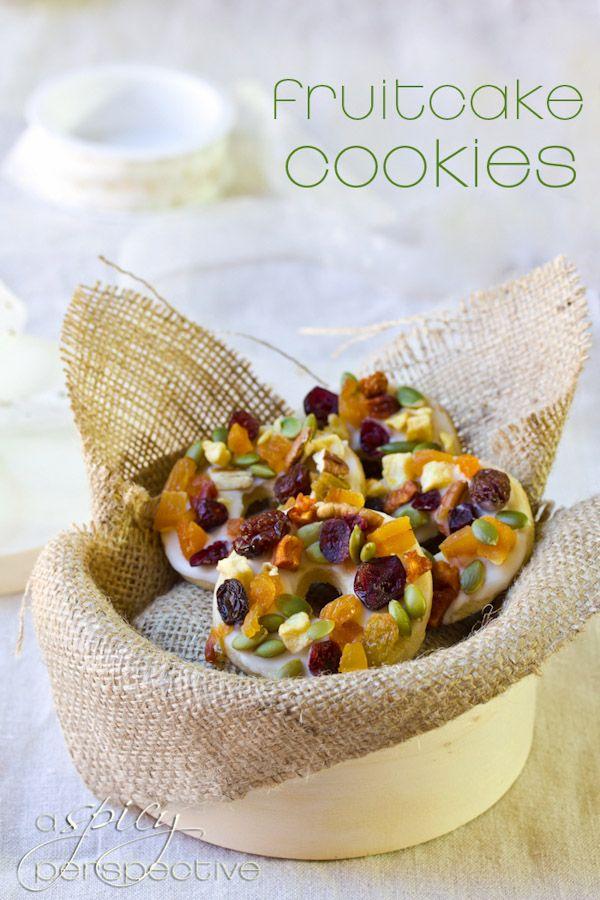 Fruitcake Cookies | ASpicyPerspective.com