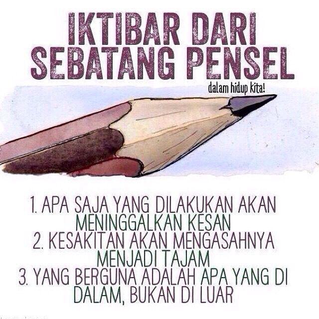 Umpama sebatang pensil