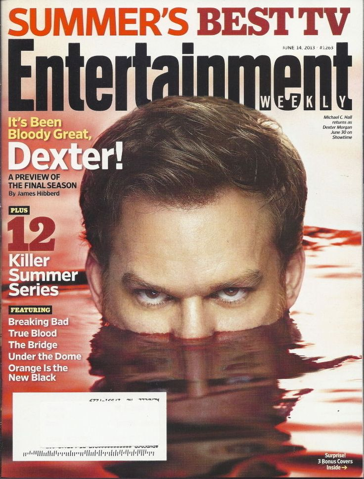 Dexter Finale Entertainment Weekly Michael C Hall Jun 2013 Beaking Bad Skarsgard