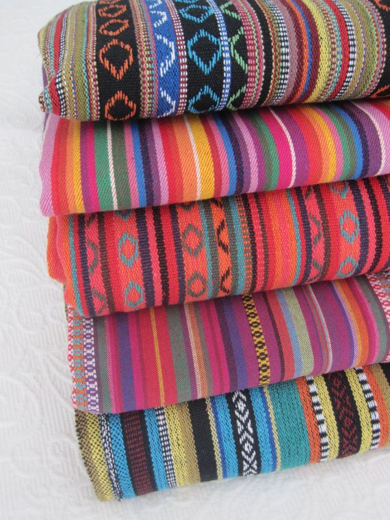 Yoga Mat Bags - Amazing MEXICAN Fabrics - made to order - roomy, easy to use, quiet, extra wide draw string close. PURE COTTON