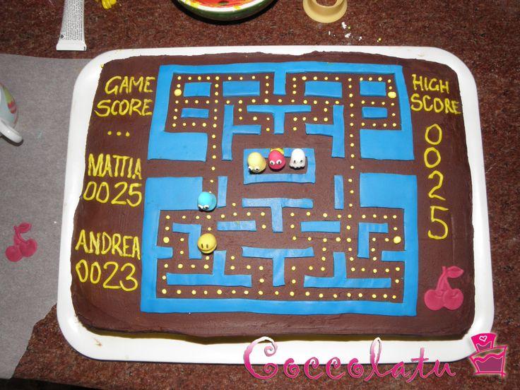 Torta Pac Man *.*