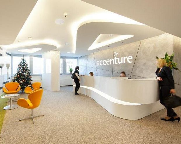 Accenture - reception desk