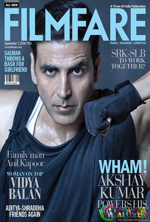 THE UNSTOPPABLE AKSHAY KUMAR ON FILMFARE'S LATEST COVER  #Bollywoodnazar #AkshayKumar