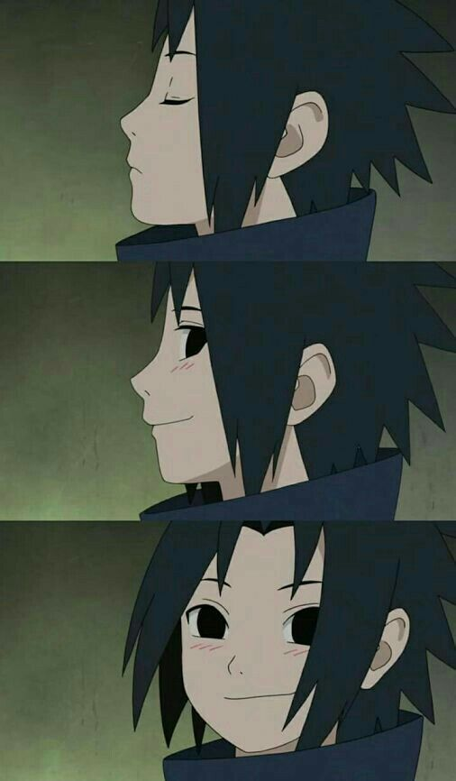Omg.. Cute little Uchiha Sasuke
