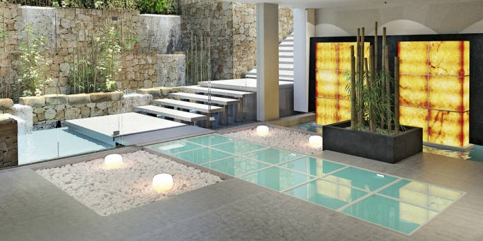 Spa entrance, Aguas de Ibiza Lifestyle & Spa, Ibiza
