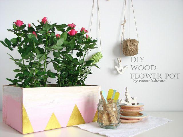 Ahşap Saksı Yapımı - Making Wood Flower Pot