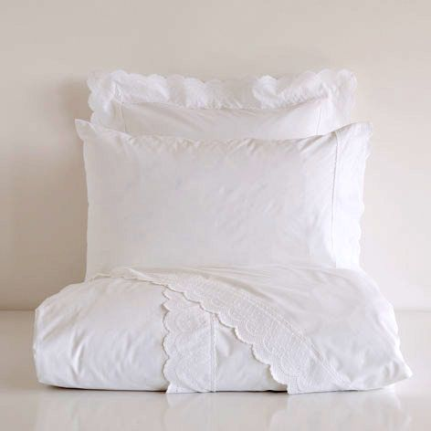 Eyelet bed linen by zarahome.com