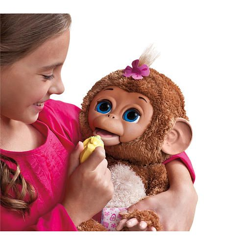 """FurReal Friends Cuddles My Giggly Monkey Pet - Hasbro - Toys """"R"""" Us"""