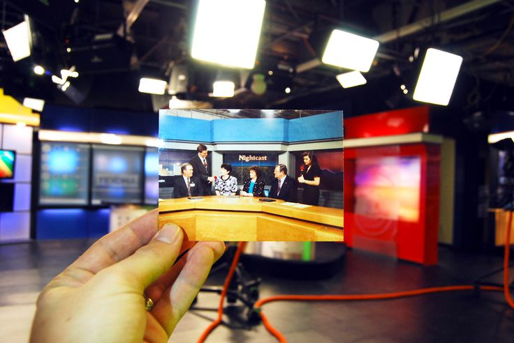 Dear Photograph,Tonight's top stories (from 40 years ago), live from Wichita Falls, Texas and the KFDX News Team!
