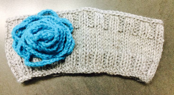 Grey with Blue rose Avail any size, $10