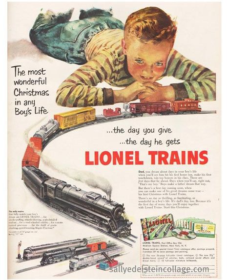 When I was around 10 years old my dad and I had a really cool old Lionel Train layout.....