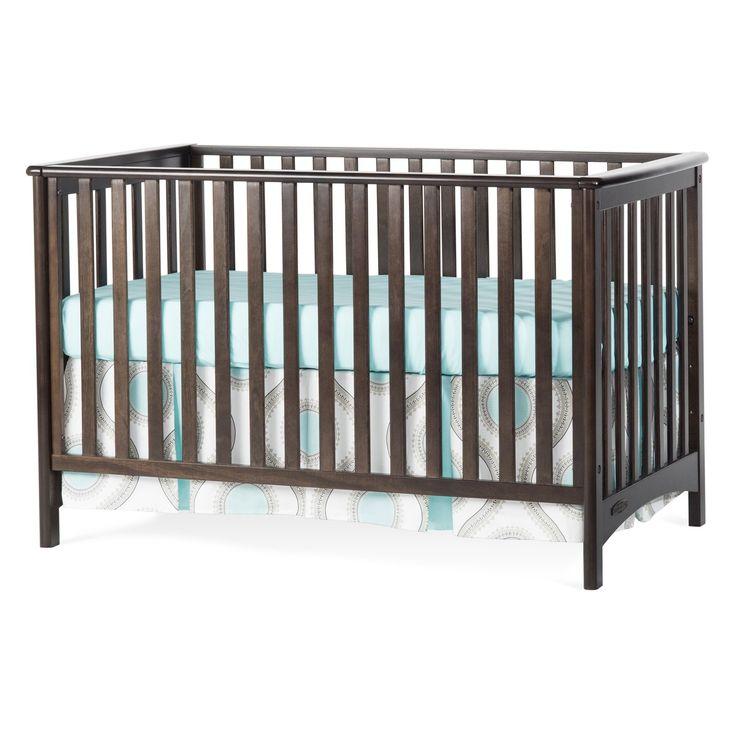 Child Craft London Stationary 3 In 1 Crib Slate F10031