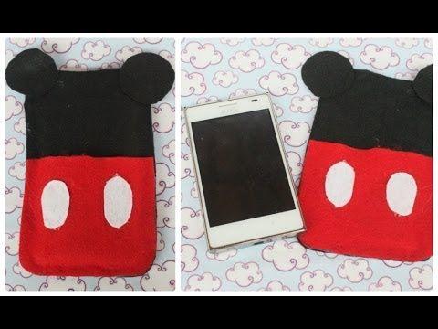 DIY: Case do Mickey para celular - YouTube