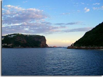 A beautiful picture of The Heads in Knysna, South Africa