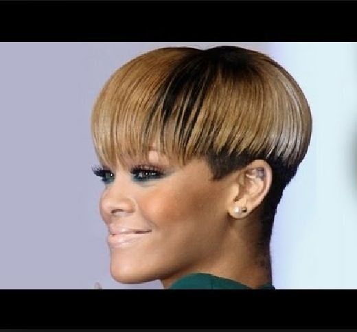 Magnificent 1000 Images About Mushroom Styles On Pinterest Bowl Cut Short Hairstyles For Black Women Fulllsitofus