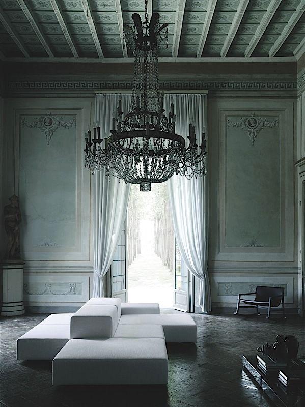 #ArtivDesignCenter Sofá extra wall Living Divani reception room https://www.facebook.com/pages/Artiv-Design-Center/120027678056383