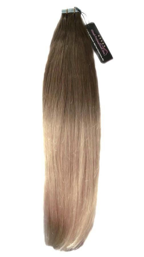 Remy Haar Tressen Tape In Extensions Echthaar Haarverlngerung Tapes
