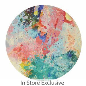 Rainbow Round Wall Decor