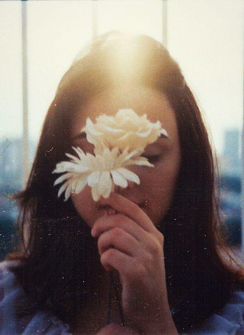 Um segredo: flores