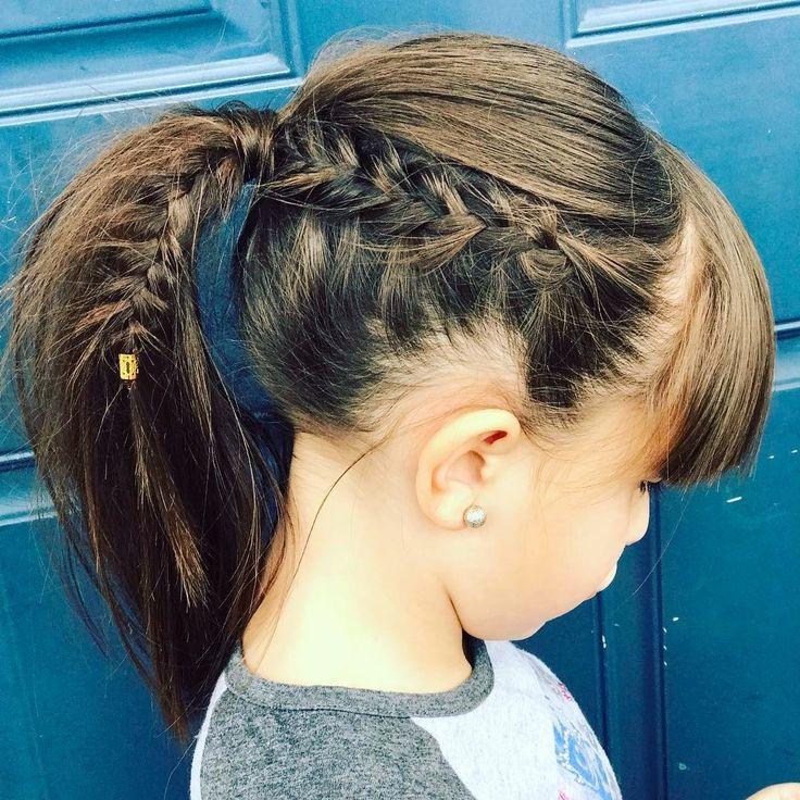 Hairstyles For Little Girls 20 divertidas trenzas para nias hair ideashairstyle ideastoddler hairstyleseasy little girl Nice 45 Stunning Little Girls Hairstyles Creative Styles For 2017 Check More At Http